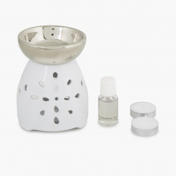 Redolence Bella Ceramic Burner Set -Set Of 4 Pcs