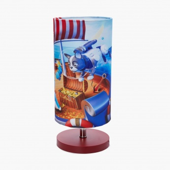 Adventures of U-Tron Nautical Digital Print Table Lamp