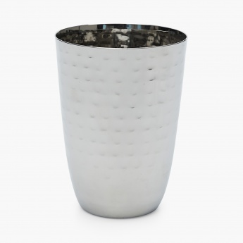Blaze Textured Round Stainless Steel Tumblers- Set Of 4 Pcs.