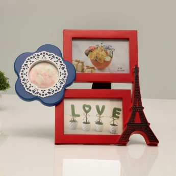 Solid Abstract Collage Photo Frame