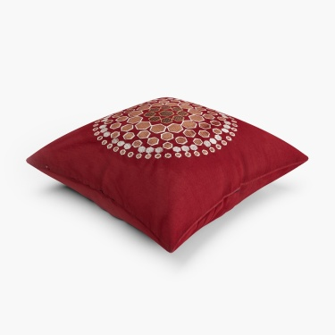 Mandarin Printed Cushion Covers- Set Of 2 Pcs.