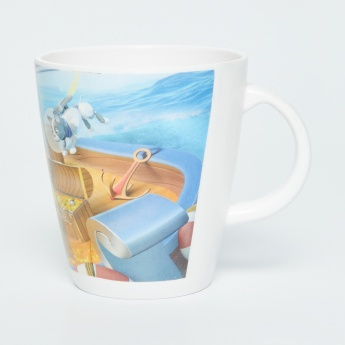 Adventure of U-tron Printed Melamine Coffee Mug