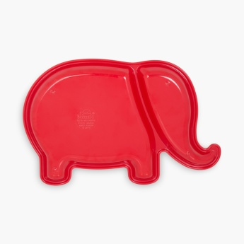 Adventures Of U-Tron Solid Elephant Shaped Dinner Plate
