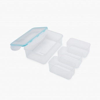 Palestine Plastic Lunch Box - 4 Pcs.