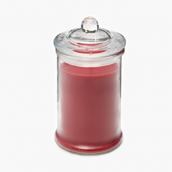 Colour Connect Colonial Jar Candle- Raspberry