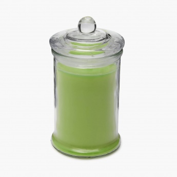 Colour Connect Colonial Jar Candle- Green Apple