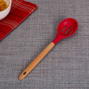 Rosemary Slotted Spoon With Wooden Handle