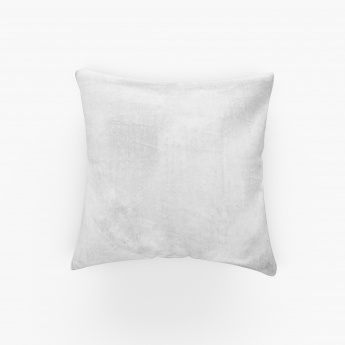 Marshmallow Diamond Embroidered Cushion Cover ? 40 X 40 CM