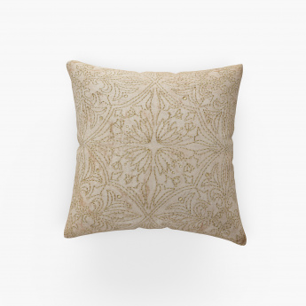 Marshmallow Embroidered Cushion Cover