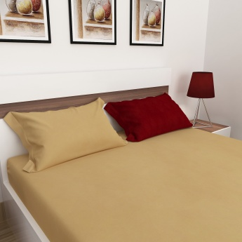 Edwardian King-Size Double Bedsheet Set- 3 Pcs.