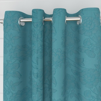 Edwardian Music Contemporary Semi-Blackout Window Curtain-Set Of 2 Pcs.