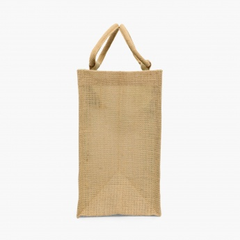 Livia Printed Jute Lunch Bag