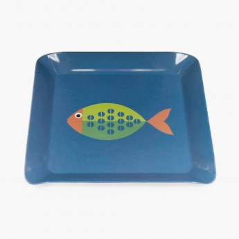 Elie Fishel Printed Serving Tray