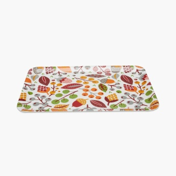 Elie-Jerry Printed Rectangular Melamine Tray
