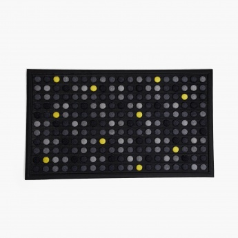 Elite Polka Printed Doormat