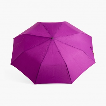 Canopy Solid Three-Fold Umbrella