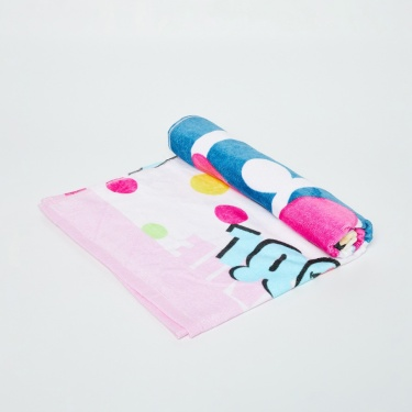 SPACES Printed Cotton Kids Bath Towel