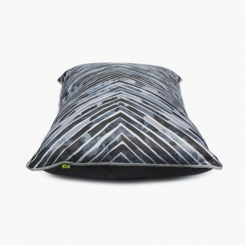 Vitara Zigzag Printed Filled Cushion