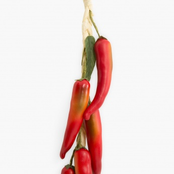 Conifer Artificial Chilli Bunch Set - Set of 8 Pcs