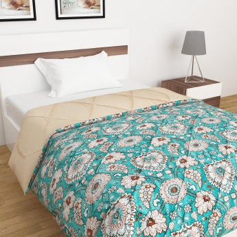 Urbane Royale Printed Single Bed Reversible Quilt