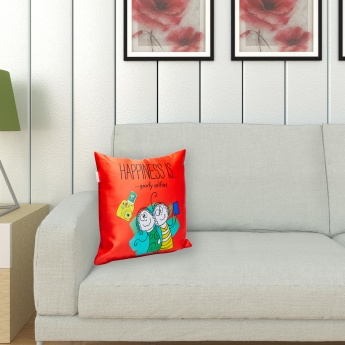 PORTICO Printed Filled Cushion