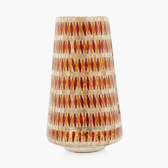 Maira Mosaic Geometric Medium Taper Vase