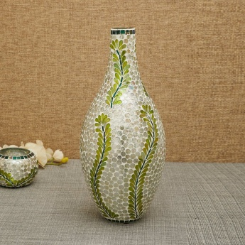 Mosaic Floral Big Flower Vase
