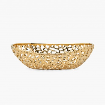 Ananda Carved Ceramic Decorative Bowl