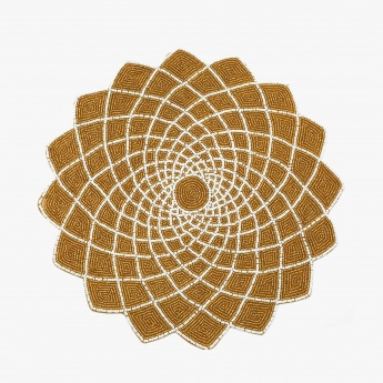 Moksha Beaded Floral Placemat