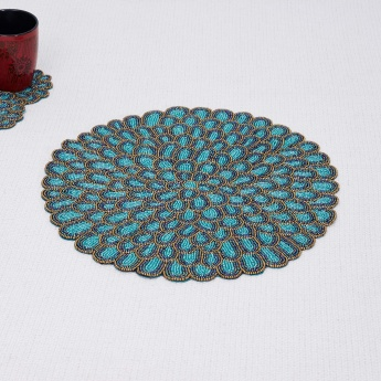 Moksha Utsav Beaded Placemat