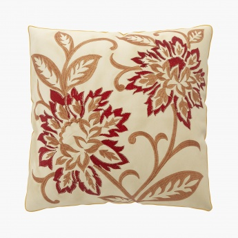 Moksha Zari Embroidered Cushion Covers - Set Of 2 Pcs.