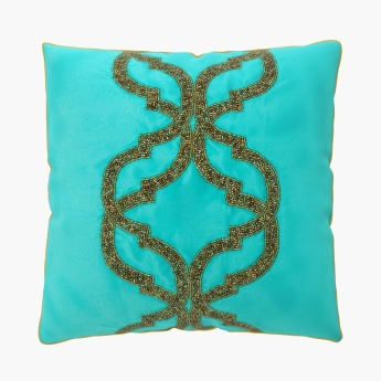 Moksha Beaded Cushion Covers - Set Of 2 Pcs.