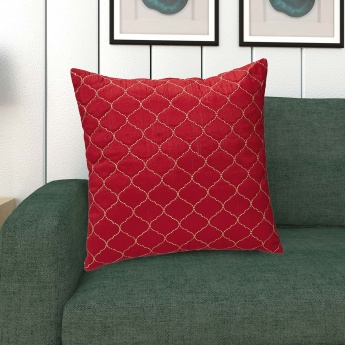 Moksha Embroidered Filled Cushion