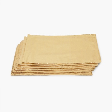 Malhar Sequinned Placemats - Set of 6 Pcs.