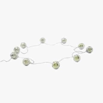 Serena Floral String Light- 10 Bulbs- Small