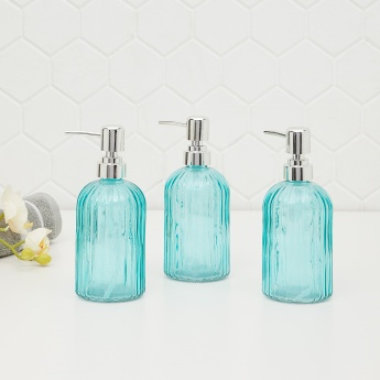 Wallies Swirl Soap Dispensers - Set of 3 Pcs.