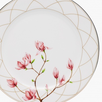 Moksha Bone China Printed Dinner Plate