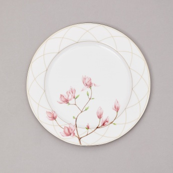 Moksha Bone China Printed Side Plate