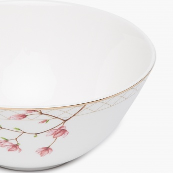 Moksha Bone China Printed Bowl