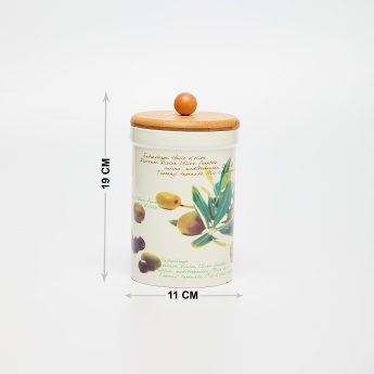 Malvina Printed Canister