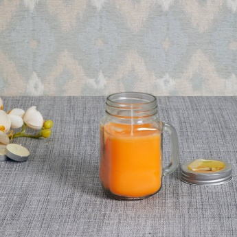 Colour Connect Mason Jar Candle - Muskmelon