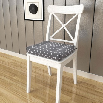Poise Telephone Print Chair Pad