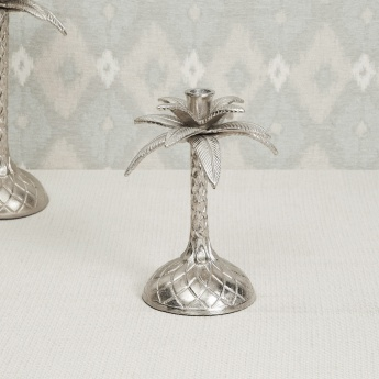 Splendid Palm Tree Taper Candle Holder
