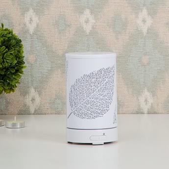 Serene Essence Leaf Metal Aroma Diffuser- 100ml.