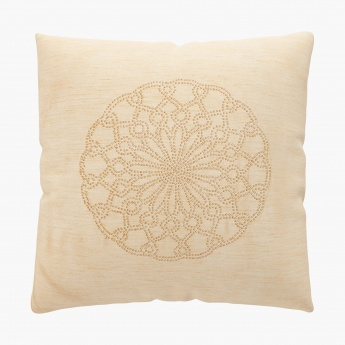 CELEBRATION Studded Cushion Cover Set- 2 Pcs. (40x40 cm.)