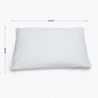 FLOW THERAPIA Memory Fiber Pillow- (49X69) cm.