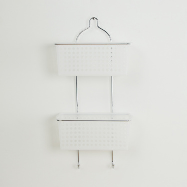 Burlington Wall Mounted Two-Tier Shower Caddy