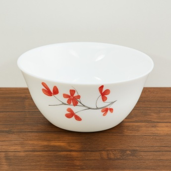 SOLITAIRE Opal Ware Printed Side Plate