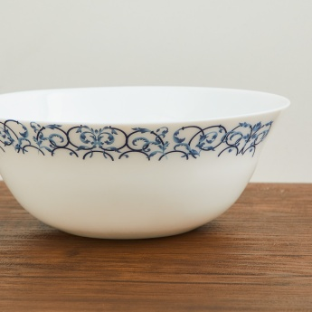 SOLITAIRE Opal Ware Printed Serving Bowl