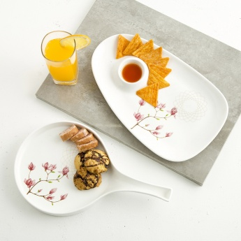Moksha Bone China Platter